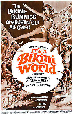 It's A Bikini World - 1967 - Movie Poster