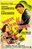 Sorry Wrong Number - 1948 - Movie Poster