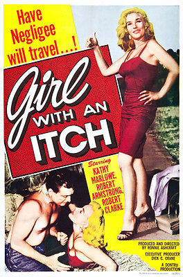 Girl With An Itch - 1958 - Movie Poster