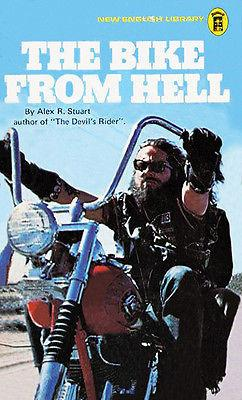 The Bike From Hell - 1975 - Pulp Novel Cover Magnet
