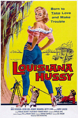 Louisiana Hussy - 1959 - Movie Poster