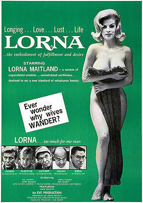 Lorna - 1964 - Movie Poster