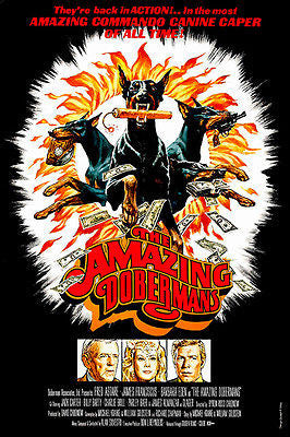 The Amazing Dobermans - 1976 - Movie Poster