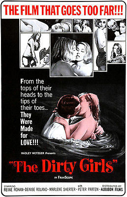 The Dirty Girls - 1965 - Movie Poster