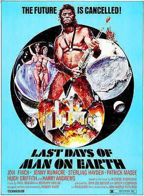Last Days of Man on Earth - 1973 - Movie Poster