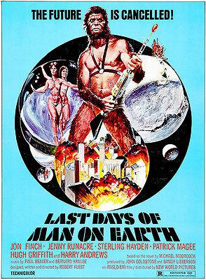 Last Days of Man on Earth - 1973 - Movie Poster Mug