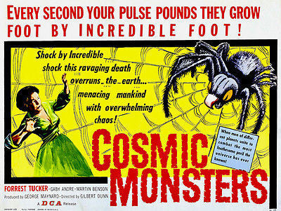 Cosmic Monsters - 1958 - Movie Poster