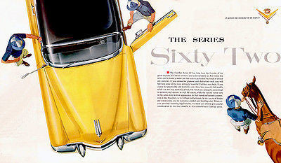 1954 Cadillac Series 62 - Promotional Advertising Poster