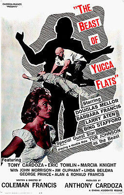 The Beast of Yucca Flats - 1961 - Movie Poster
