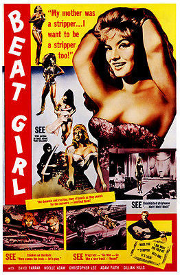 Beat Girl - 1960 - Movie Poster