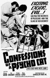 Confessions of a Psycho Cat - 1968 - Movie Poster