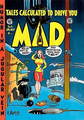 MAD Magazine #4 - April / May 1953 - Cover Magnet