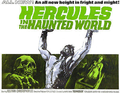 Hercules In The Haunted World - 1961 - Movie Poster