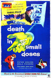 Death In Small Doses - 1957 - Movie Poster