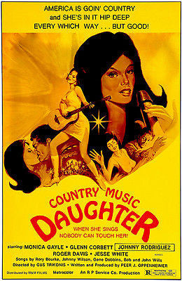 Country Music Daughter - 1981 - Movie Poster