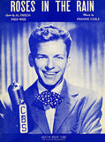 Frank Sinatra - Roses In The Rain - 1947 - Sheet Music Cover Poster