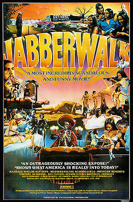 Jabberwalk - 1977 - Movie Poster