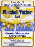 The Marshall Tucker Band - Ozark Mountain Daredevils - 1974 - Concert Poster