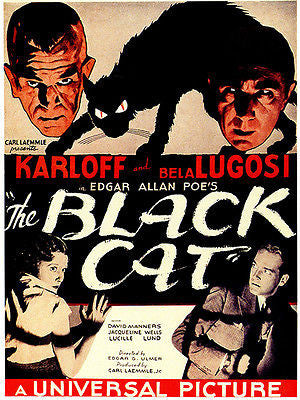 The Black Cat - 1934 - Movie Poster