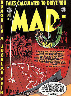 MAD Magazine #10 - April 1954 - Cover Poster