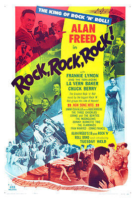 Rock, Rock, Rock - 1956 - Movie Poster