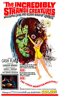 The Incredibly Strange Creatures - 1964 - Movie Poster