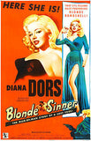 Blonde Sinner - 1956 - Movie Poster