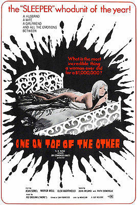 One On Top Of The Other - 1969 - Movie Poster