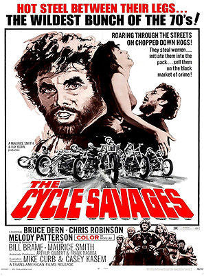 Cycle Savages - 1969 - Movie Poster