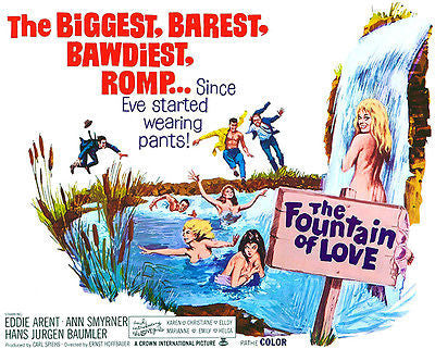 The Fountain of Love - 1966 - Movie Poster