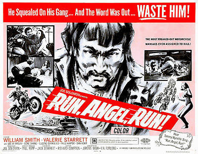 Run, Angel, Run! - 1969 - Movie Poster