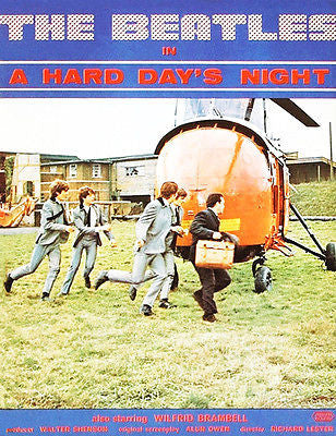 A Hard Days Night - 1964 - Movie Poster
