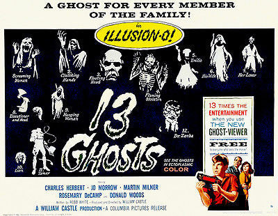 13 Ghosts - 1960 - Movie Poster