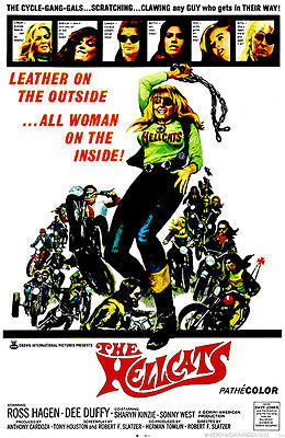 The Hellcats - 1967 - Movie Poster