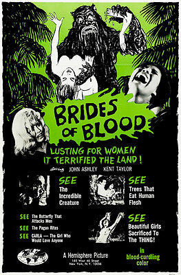 Brides of Blood - 1968 - Movie Poster
