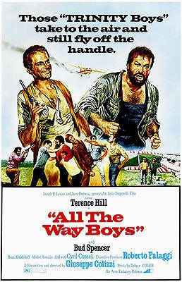 All The Way Boys - 1972 - Movie Poster