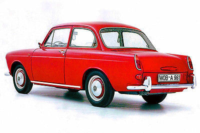1961 Volkswagen 1500 Type 3 - Photo Poster