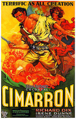 Cimarron - 1931 - Movie Poster