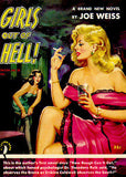 Girls Out Of Hell! - 1952 - Pulp Novel Cover Poster