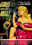 Girls Out Of Hell! - 1952 - Pulp Novel Cover Mug