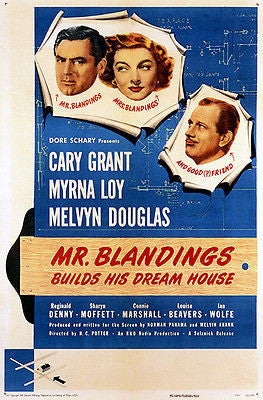 Mr. Blandings Builds His Dream House - 1948 - Movie Poster