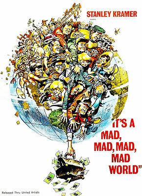 It's A Mad, Mad, Mad, Mad World - 1963 - Movie Poster Mug
