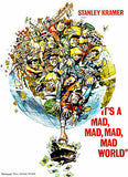 It's A Mad, Mad, Mad, Mad World - 1963 - Movie Poster
