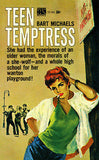 Teen Temptress - 1964 - Pulp Novel Cover Poster