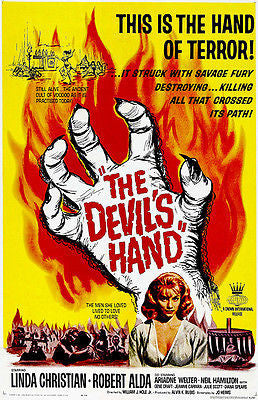 The Devil's Hand - 1961 - Movie Poster
