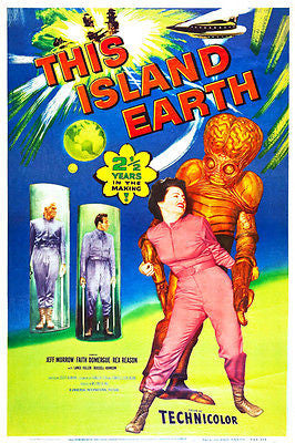This Island Earth - 1955 - Movie Poster