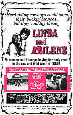 Linda And Abilene - 1969 - Movie Poster