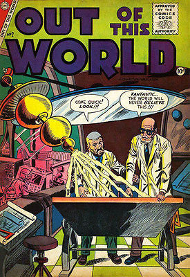 Out of This World #2 - December 1956 - Comic Book Cover Poster