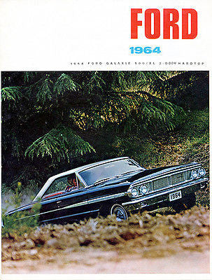 1964 Ford Galaxie 500/XL 2 Door Hardtop - Promotional Advertising Poster