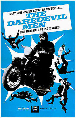 The Daredevil Men - 1972 - Movie Poster